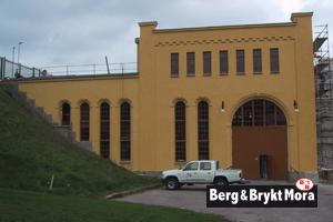 Bullerforsen-Kraftstation-puts