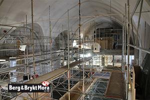 Renovering kyrka Gagnef